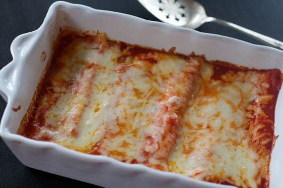 Manicotti  by Angela Roberts