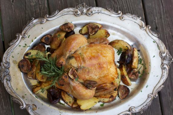 Roast Chicken & Figs 2