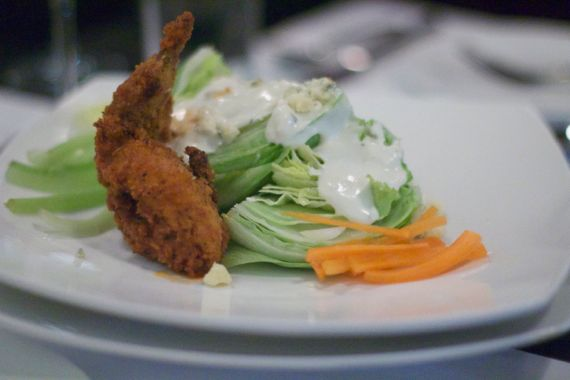 Buffalo Quail Wedge at M, a Restaurant in Nashville by angela roberts