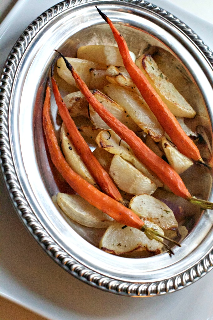 Roasted Turnips and Carrots