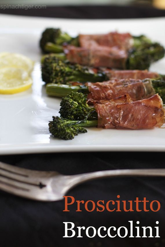 Broccolini Prosciutto by Angela Roberts