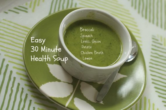 Thirty Minute Health Suop by ANgela Roberts