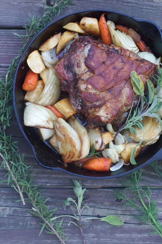 Post image for Mock Porchetta with Root Vegetables, the Best Roast Pork You'll Ever Eat