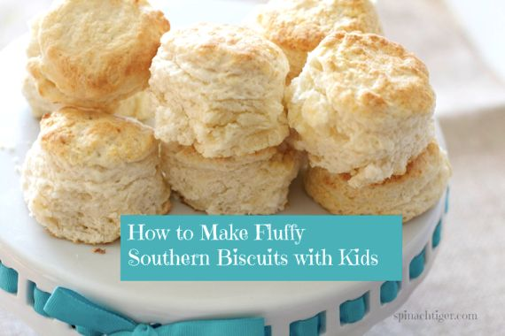 Fluffy Biscuits and Holiday Side Dishes from Spinach Tiger