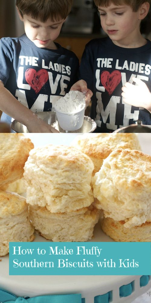 Make the best homemade fluffy biscuit recipe from Spinach TIger