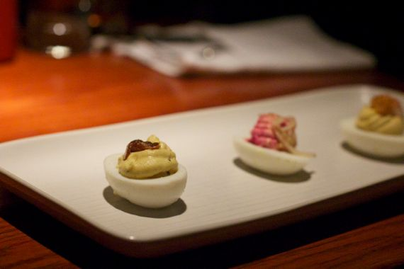 :Silo: Deviled Eggs Three Ways