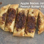 Peanut Butter & Apple Bacon Jam Pizza