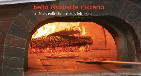 Crushing on Nashville Pizza: Bella PIzza from Spinach tiger