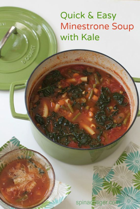 Quick & Easy Minestrone Soup by Angela Roberts