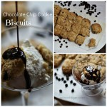 Chocolate Chip Biscuit Sundae by Angela Roberts