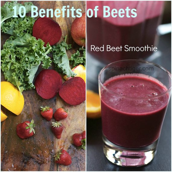 Red Beet Smoothie Recipe and 10 Benefits of Beets