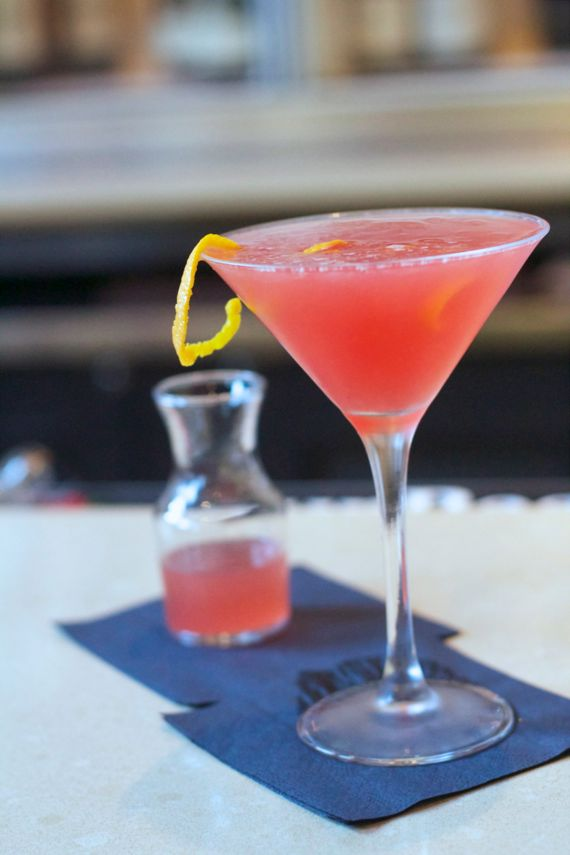 Blood Orange Martini at Watermark by Angela Roberts