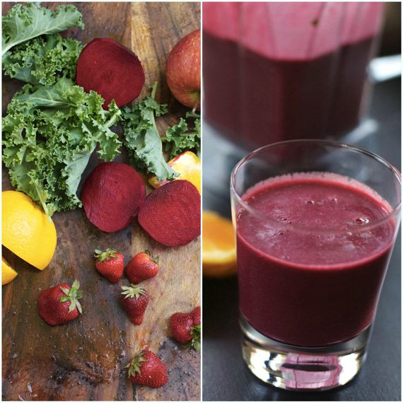 Red Beet Smoothie by Angela Roberts