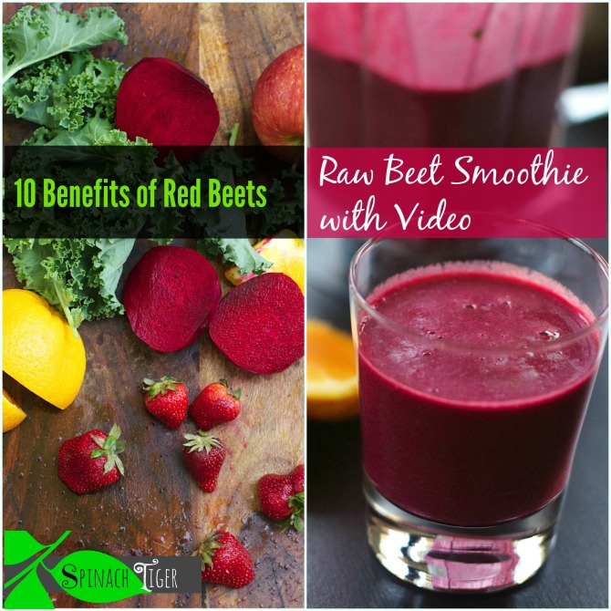 Red Beet Vitamix Smoothie Recipe And 10 Benefits Of Beets