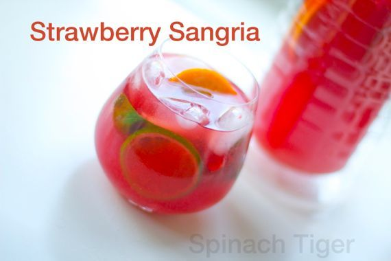 Strawberry Sangria 2 by Angela Roberts