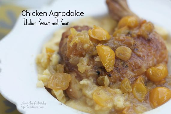 Chicken Agrdolce by angela roberts
