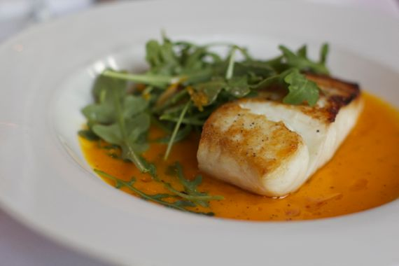 Halibut from Margot Cafe in East Nashville by Angela Roberts