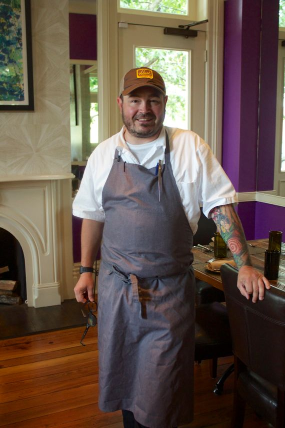 Chef Sean Brock of Husk Nashville by Angela Roberts