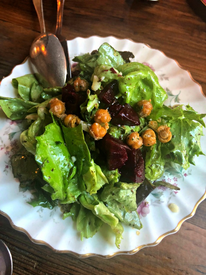 Salad at Margot Cafe