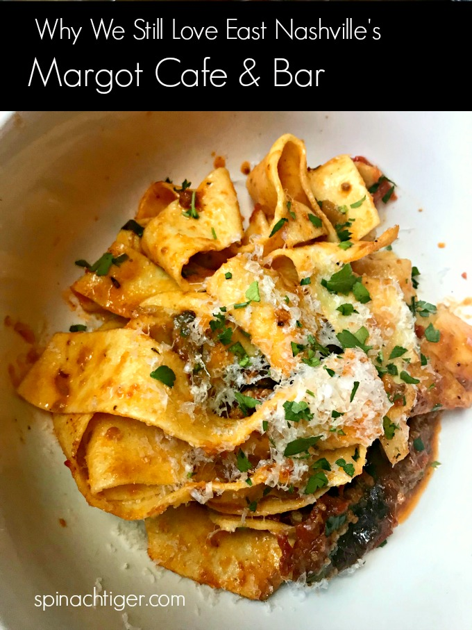Homemade Pasta at Margot Cafe from Spinach Tiger