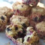 Blueberry Crumb Buttermilk Muffins by Angela Roberts