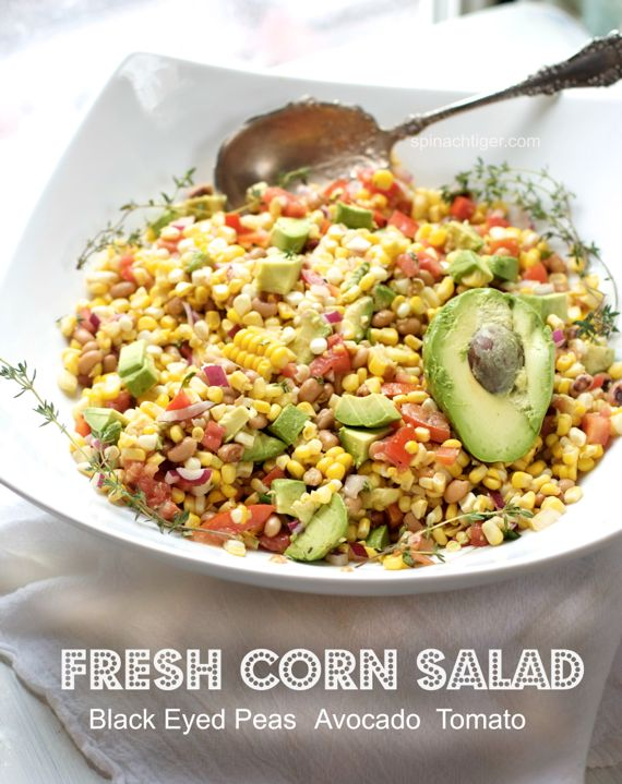 Corn Avocado Salad by Angela Roberts