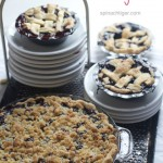 Blueberry Crumb Pie with Recipe for Pie Crumb Topping
