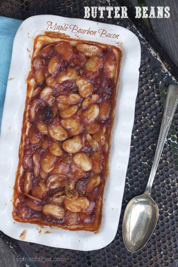 Barbecued Butter Beans by Angela Roberts