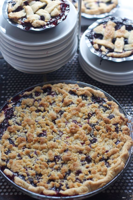 Best recipe for Blueberry Crumb Pie by Angela Roberts