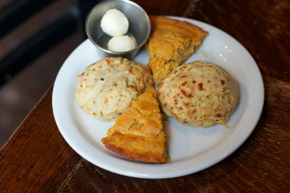 Biscuits at Saffire by Angela Roberts