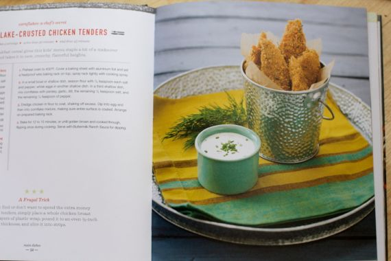 Corn Flake Crusted Baked Chicken Tenders from Breakfast for Dinner by ...