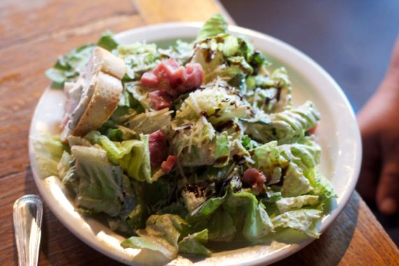 Cesaer Salad at Saffire Restaurant by Angela Roberts