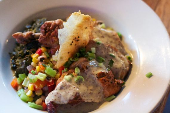 Tennessee Pan Roasted Chicken at Saffire by Angela Roberts