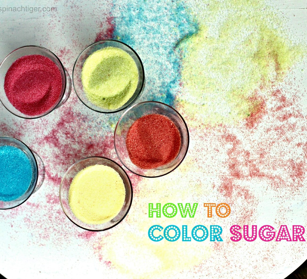 How to Color Sugar