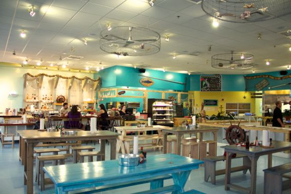 Bubba Gandy Seafood & Steamery 1 by Angela Roberts