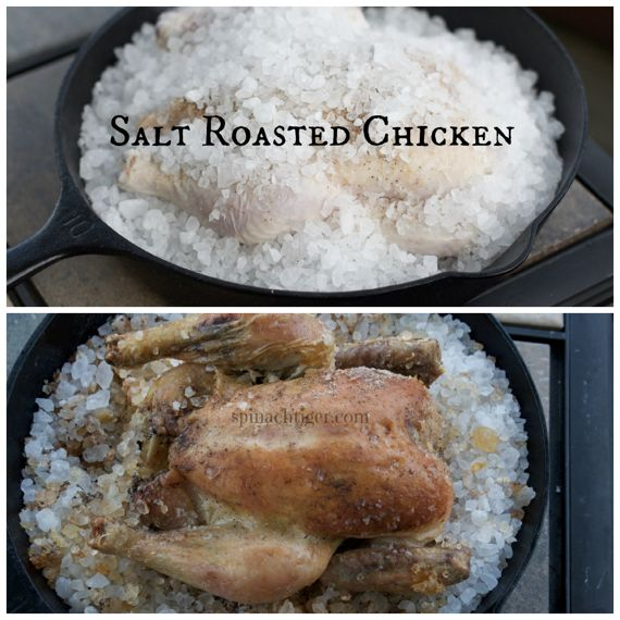 salt roasted chicken by Angela Roberts
