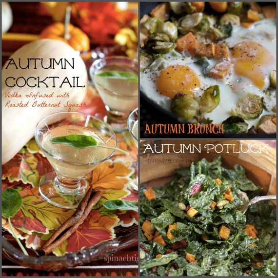 Autumn Dishes by Angela Roberts
