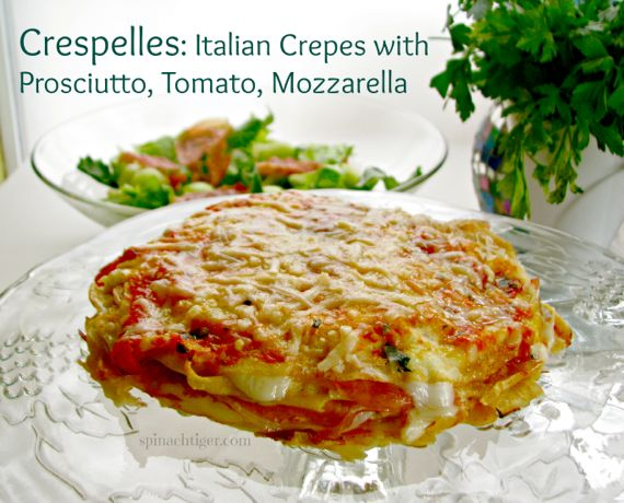 Crespelles: A year of cooking Italy with Marcella Hazan by Angela Roberts