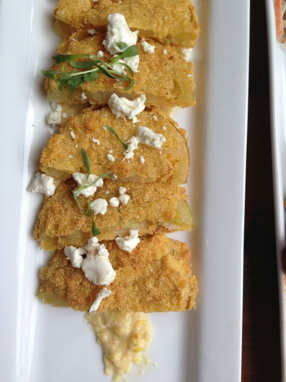 Gray's on Main Fried Green Tomatoes by Angela Roberts