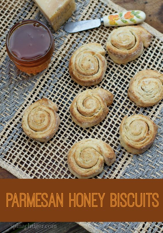 Parmesan Honey Biscuits by Angela Roberts