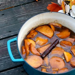 Retro Rose's Legendary Stove Top Candied Sweet Potatoes