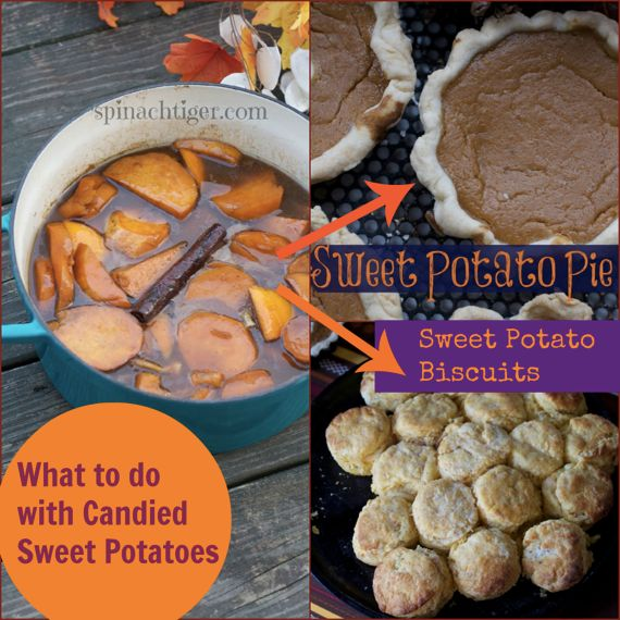 Two Ways to Make Southern Sweet Potato Pie by Angela Roberts