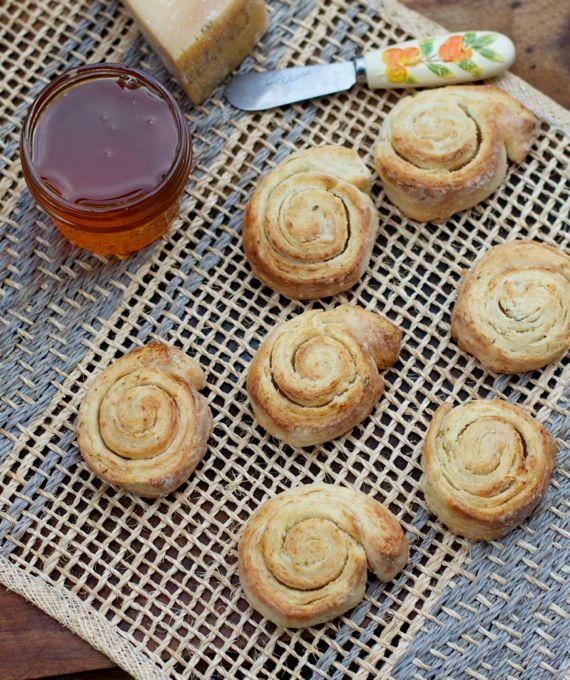 Honey Parmesan Biscuits