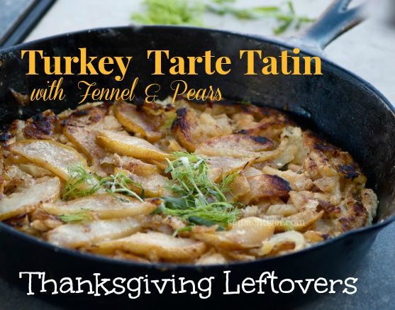 Savory Tarte Tatin for Thanksgivng Leftovers by Angela Roberts
