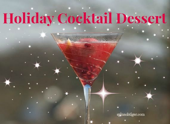Holiday Cocktail Dessert by Angela Roberts