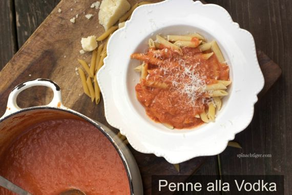 Penne alla Vodka by Angela Roberts