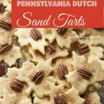 Pennsylvania Dutch Sand Tarts Christmas Cookie by Angela Roberts