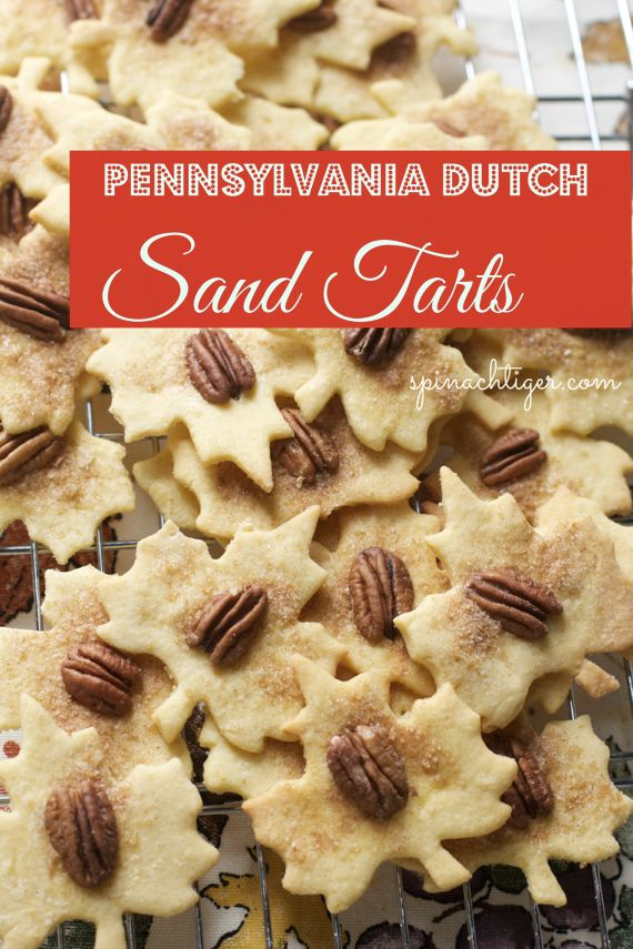 Pennsylvania Dutch Sand Tarts, an Amish Christmas Cookie