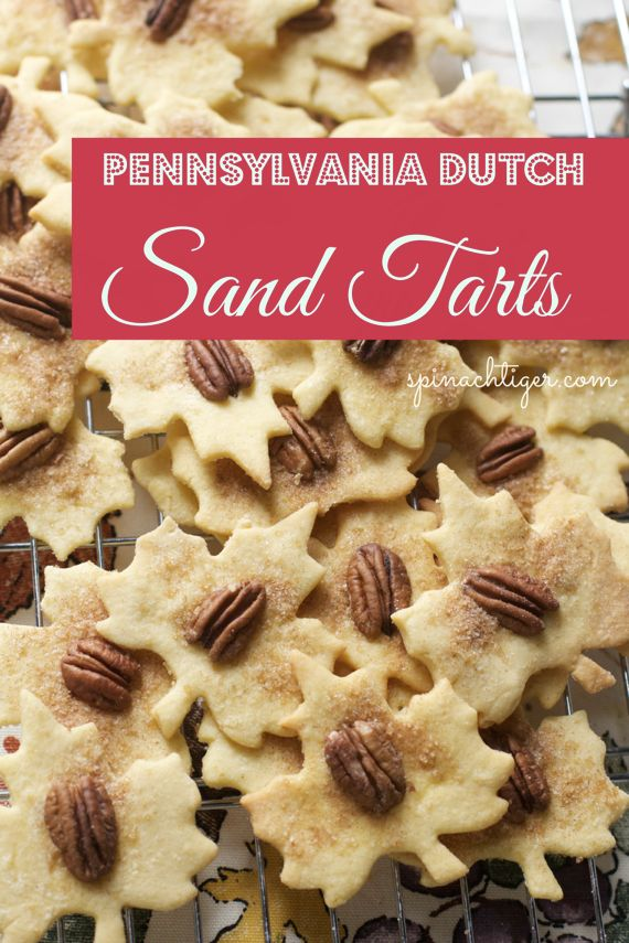 Pennsylvania Dutch Sand Tarts by Angela Roberts