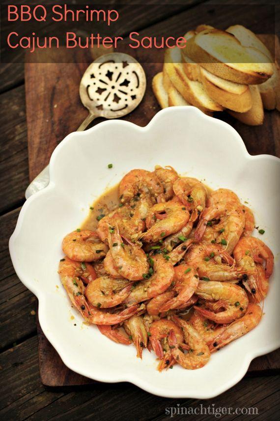 Cajun BBQ Shrimp by Angela Roberts
